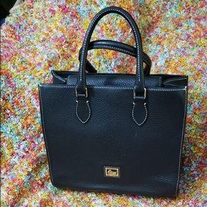 Dooney & Bourke Leather Flap Shoulder Bag